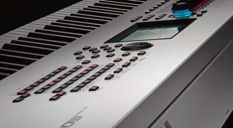 Yamaha Montage White