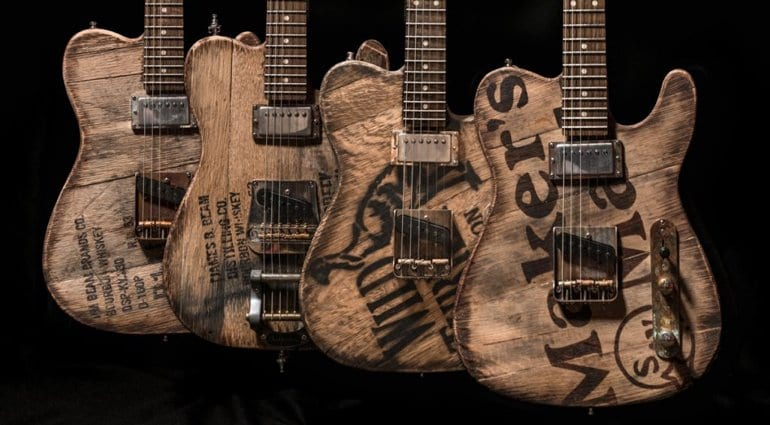 Big D Bourbon Topped Telecasters