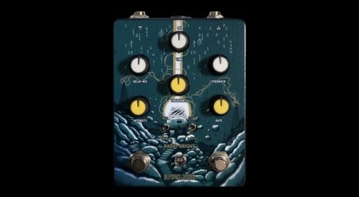 Deep Space Devices Radio-Bright Ring Modulation and Lo-Fi Delay pedal