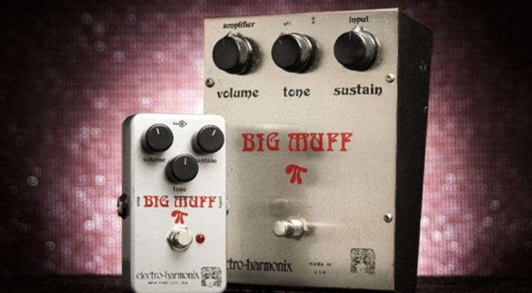 EHX Electro Harmonix Ram's Head Big Muff Pi Guitar Effects Fuzz Pedal
