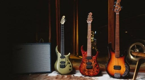 Ernie Ball Music Man unveils October's Ball Family Reserve collection