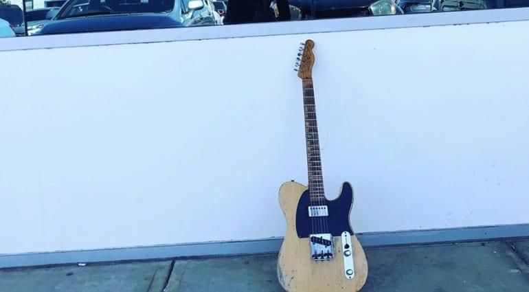 Facebook tease - Fender Custom Shop Joe Bonamassa Nocaster?