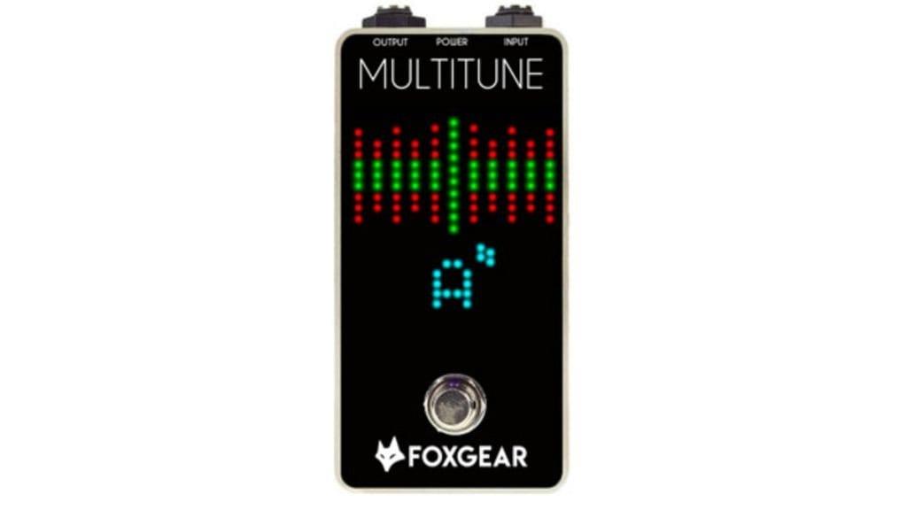 FoxGear pedals Multitune polyphonic tuner
