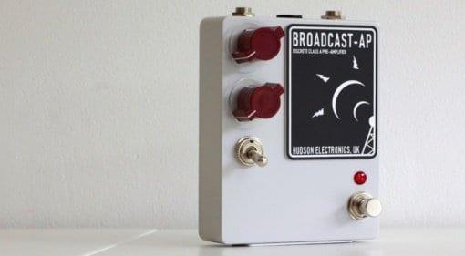 Hudson Electronics Ariel Posen signature Broadcast-AP preamp pedal