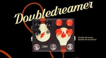 JAM Pedals Double Dreamer stacks two drives in one pedal