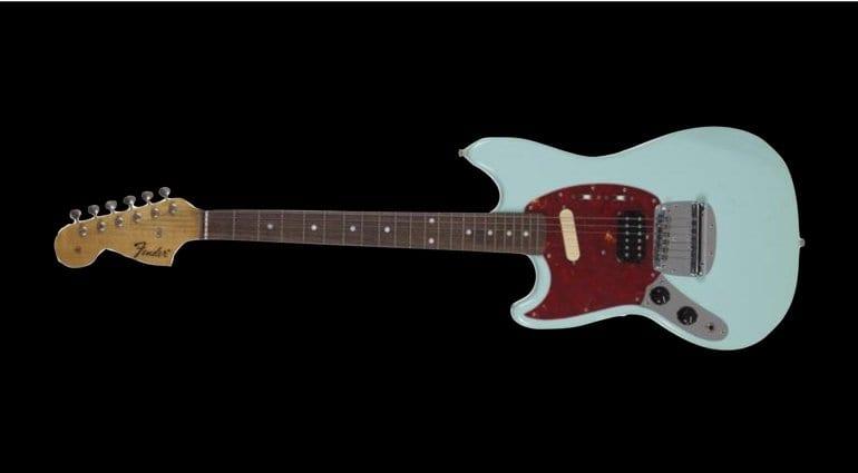 Nirvana In Utero era Kurt Cobain Fender Mustang up for auction