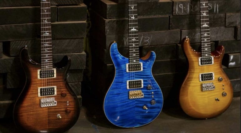 PRS 35th Anniversary Custom 24 Models
