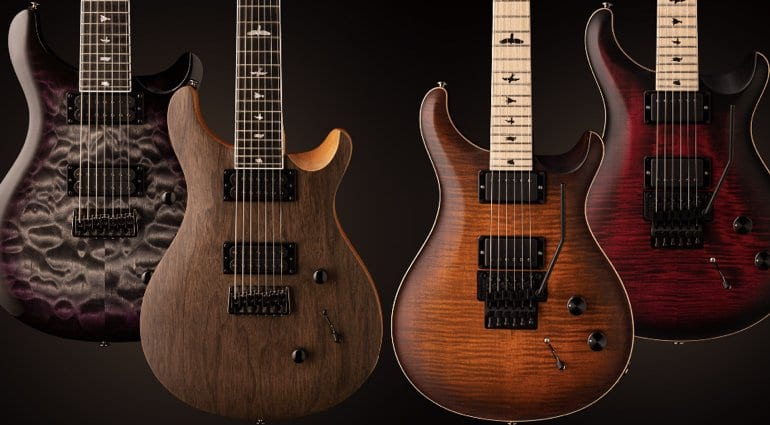 PRS announces new SE Mark Holcomb SVN and DW CE 24 Floyd models