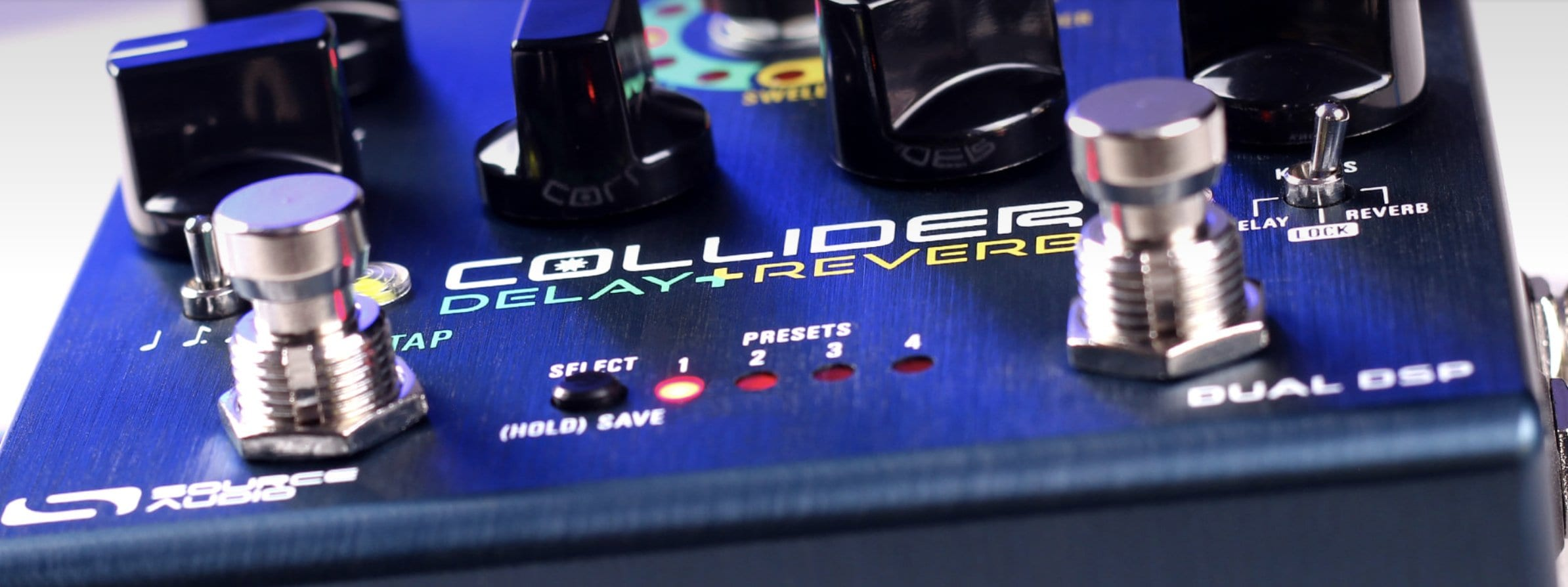Source Audio Collider Delay + Reverb