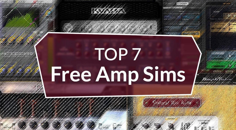 Top 7 Free Amp Sims The Best Freeware Virtual Guitar Amp Plug Ins Gearnews Com