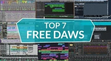 Top 7 Free DAWs The Best freeware for music mixing and recording