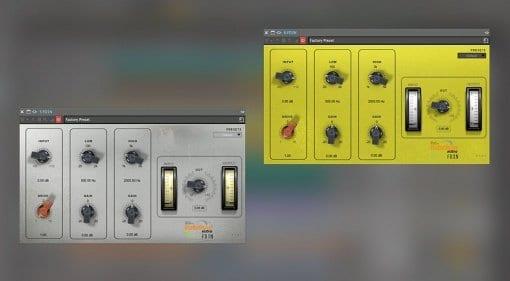 Babelson Audio FD1N and FD3N Tube EQ Saturator plug-ins