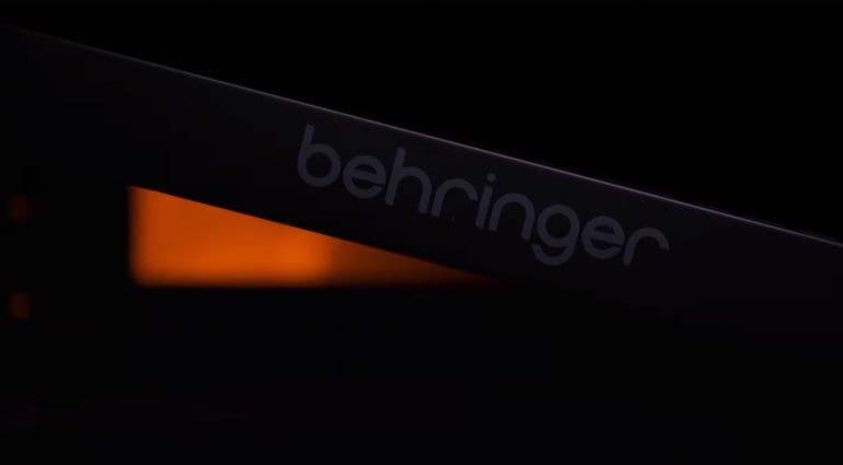Behringer W tease