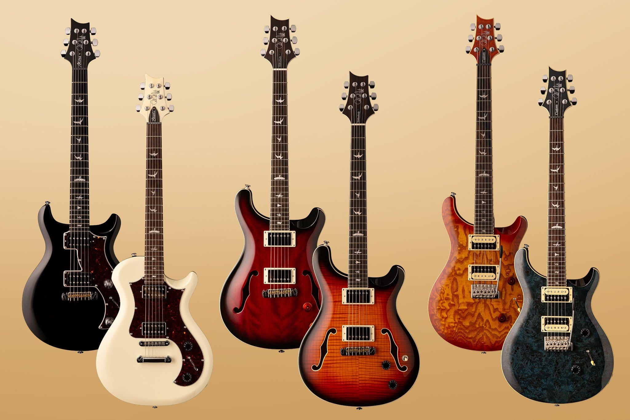 New PRS SE models launched including Mira and Starla