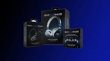 Electro Harmonix Bluetooth headphones