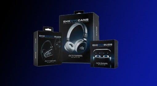 Electro Harmonix Bluetooth headphones