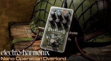 Electro Harmonix Nano Operation Overlord mini JFET drive pedal