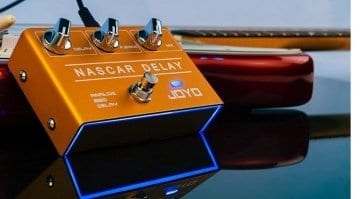 Joyo Nascar Delay R10 analogue BBD delay pedal