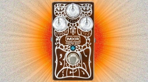 MXR limited edition Brown Acid Fuzz: