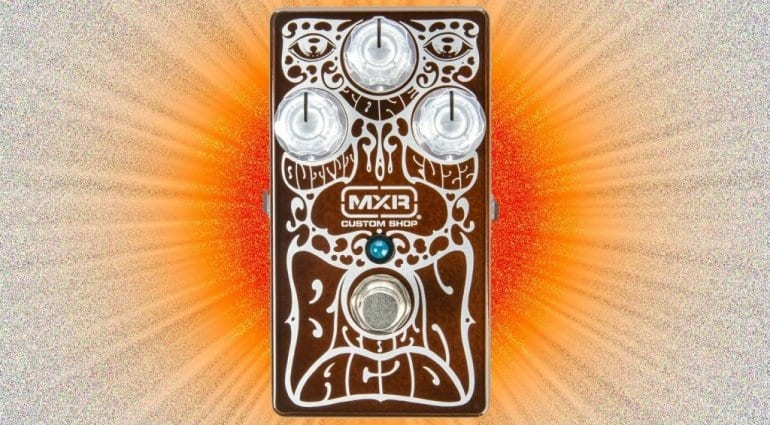 MXR limited edition Brown Acid Fuzz: