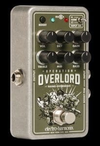 EHX Nano Operation Overlord drive pedal - Not just for guitars!