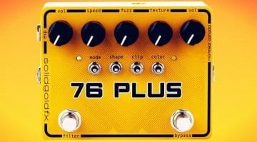 Solid Gold FX 76 Plus Octa Fuzz pedal