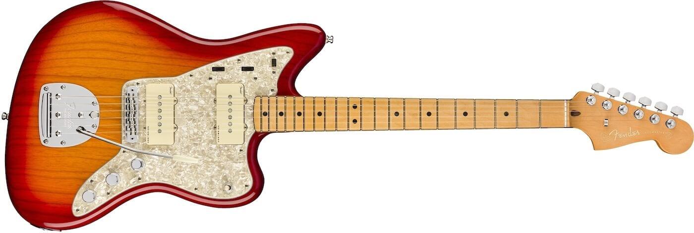 American Ultra Jazzmaster Plasma Red Burst