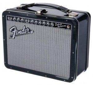Aquarius Fender Black Tolex Lunch Box