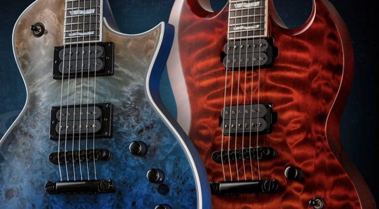 Winter Namm 2020.Esp Presents A Slew Of Stunning New Ltd Models Ahead Of