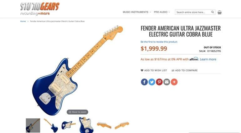 Fender American Ultra Series