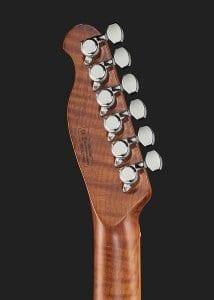 Harley Benton Fusion-T HH Roasted FNT roasted mapole neck and locking tuners