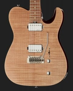 Harley Benton Fusion-T HH Roasted FNT with Wilkinson trem