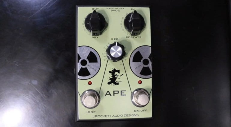 J Rockett Audio APE Analog Preamp Experiment