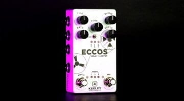 Keeley Eccos Delay and Looper pedal