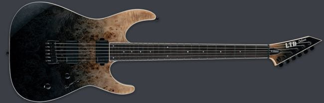 LTD M-1000HT Black Natural Fade