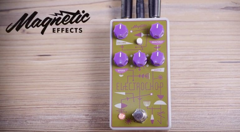 Magnetic Effects Electrochop optical tremolo pedal