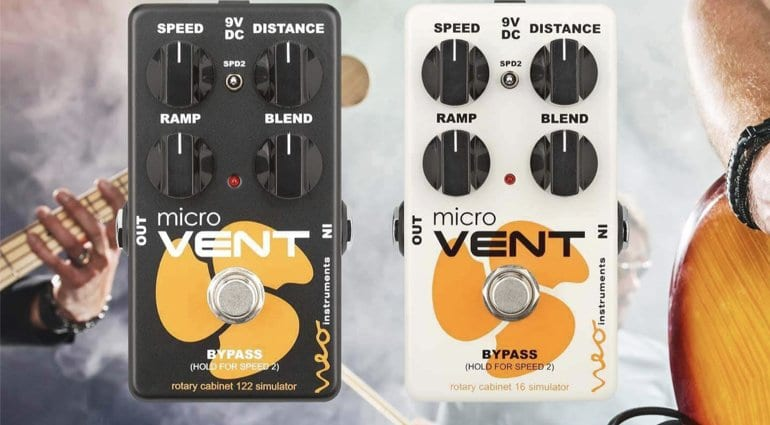 Neo Micro Vent 122 and 16 Leslie simulator pedals