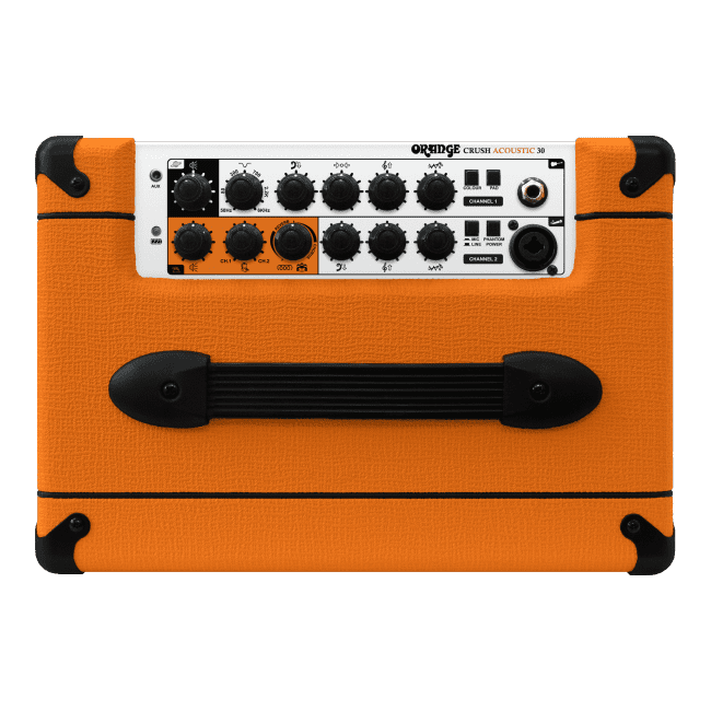 Orange Crush Acoustic 30 Control panel