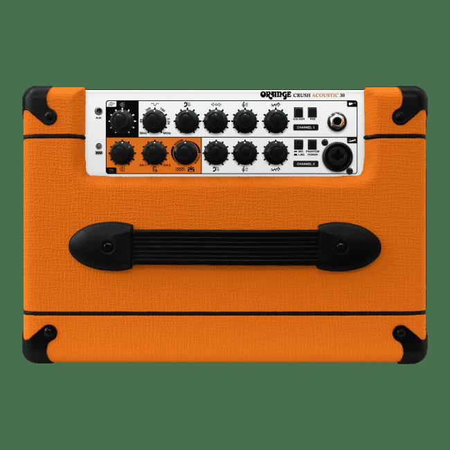 OrangeCrush Acoustic 30 Control panel