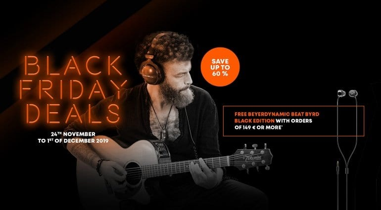 Beyerdynamic Black Friday sale
