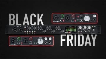 Focusrite Black Friday sale