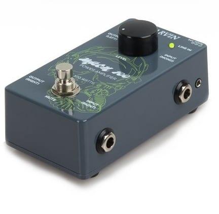 Carvin MACH100 100 watt amp in a pedal
