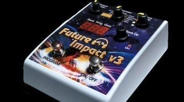 pandaMidi Future Impact V3 synth pedal