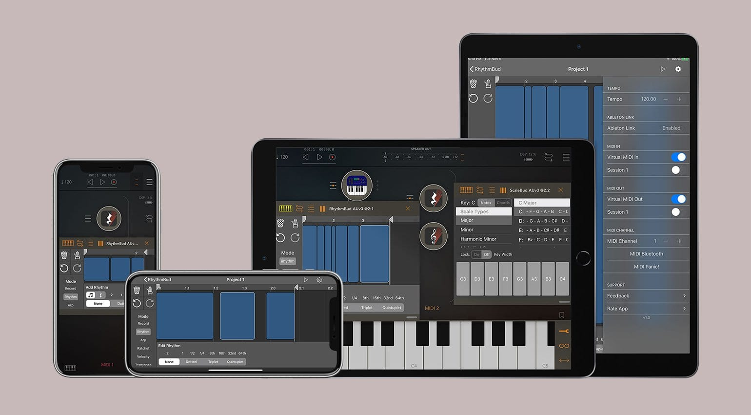 RhythmBud is a nifty iOS app that gets your MIDI notes grooving - gearnews.com