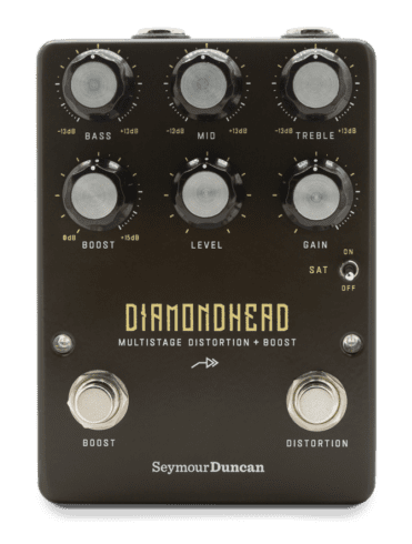 Seymour Duncan Diamondhead Multistage Distortion pedal