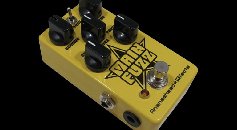 Ananashead Effects Main Fuzz pedal