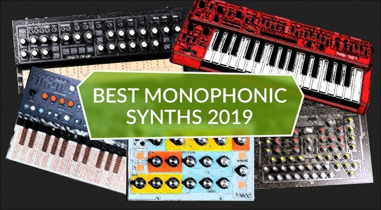 Best Monophonic Synthesizers 2019 Top 5 monosynths