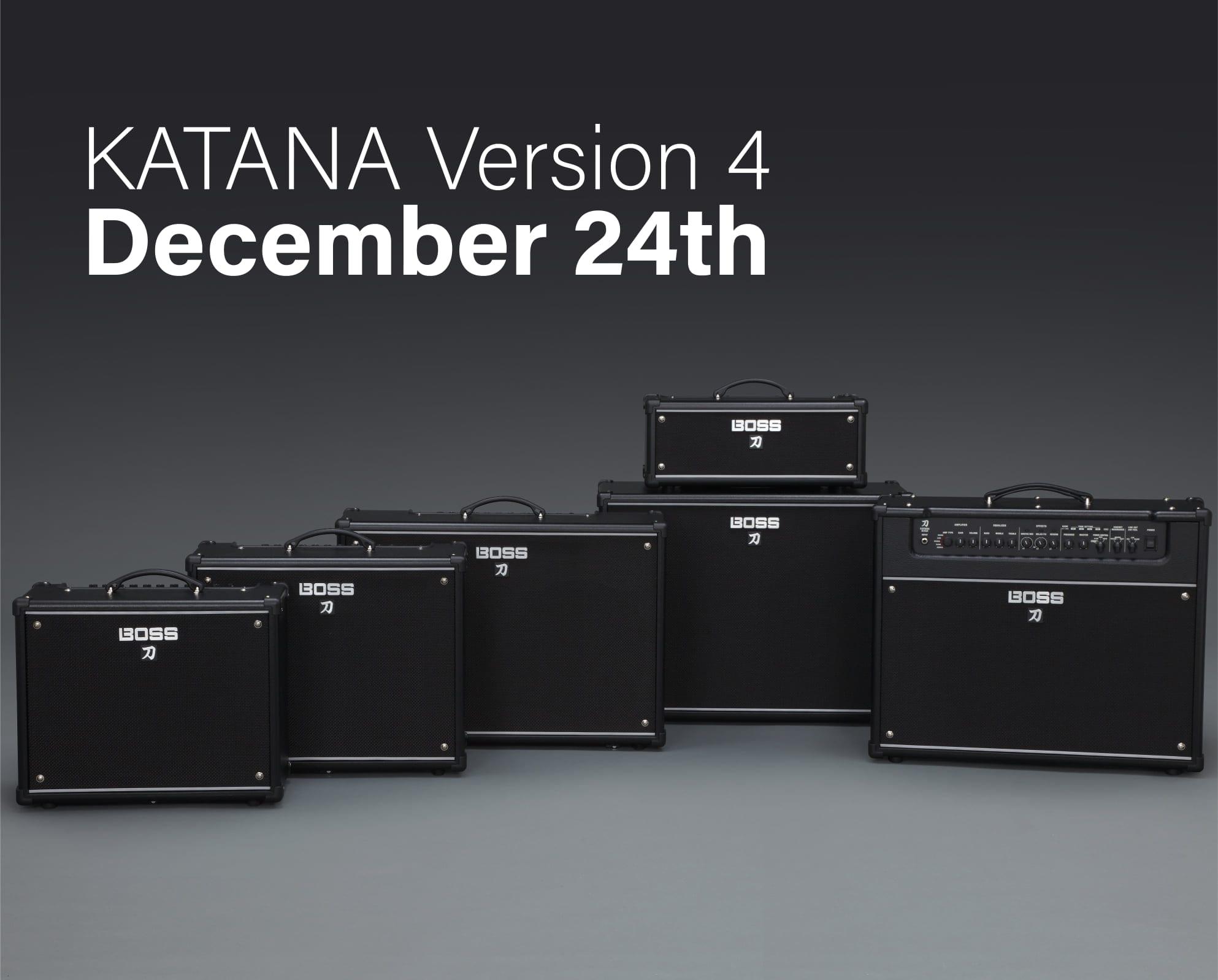 Boss Katana Version 4