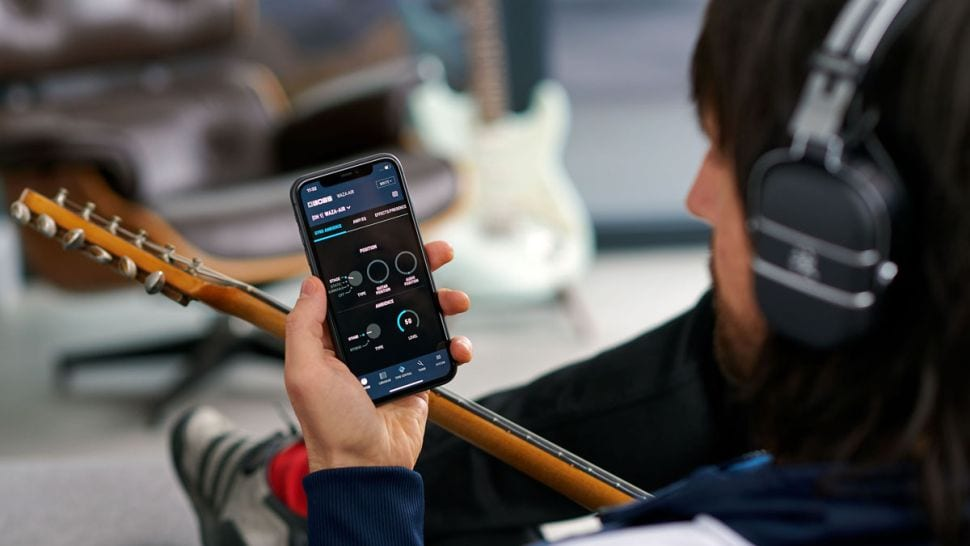 Boss Tone Studio app for iOS and Android