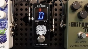 EHX-2020 compact tuner pedal